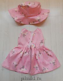 Платье со шляпой