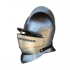 Шлем Бургиньот с горжетом. Европа XVI-XVII вв.