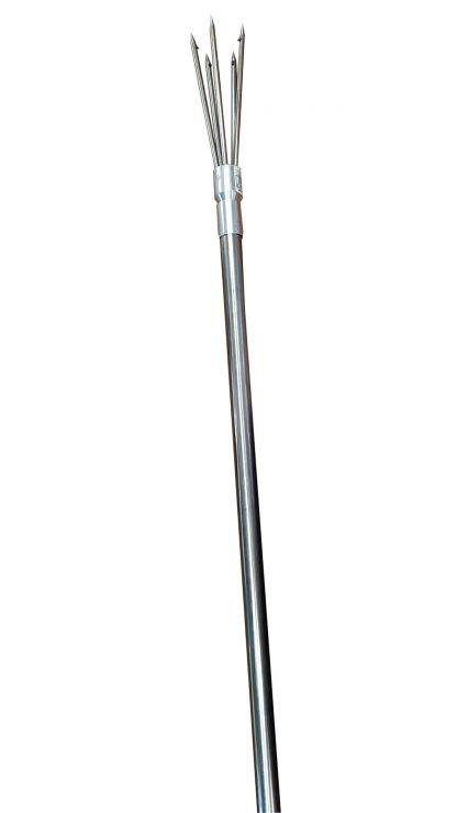 Острога телескопическая 1,9 м 5 зубов