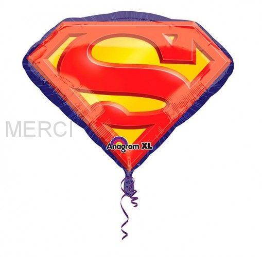 "Шар фигура ""Супермен эмблема"""