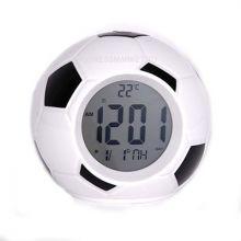 Настольные говорящие часы Футбольный мяч Atima AT-609TI,(цвет черный)