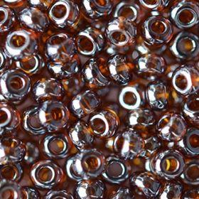 Бисер чешский 16110 темно-коричневый прозрачный блестящий Preciosa 1 сорт
