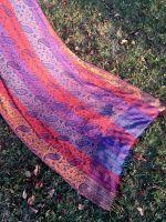 Разноцветная шаль из Индии. Купить в Москве