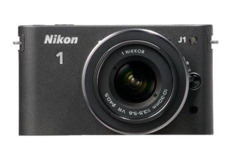 Фотоаппарат со сменной оптикой Nikon 1 J1 Kit