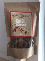 Сыроедческие сухарики с Томатами с солью  «Живая Кухня»(100 грамм)