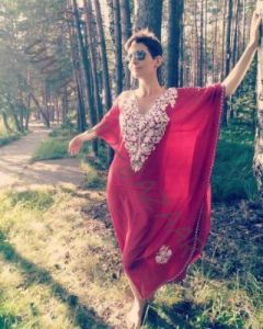 Платья из шёлка жоржет, разные цвета