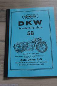 Каталог з/ч DKW NZ 250/350 (58)