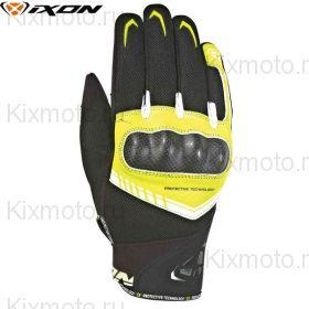 Перчатки Ixon Rs Loop 2, Черный/белый/желтый