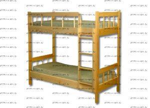 Кровать двухъярусная 16579