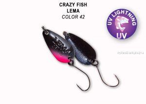 Колеблющаяся блесна Crazy Fish Lema 1,6 гр / цвет: 42