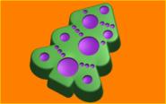 Форма для мыла Укрась ёлку