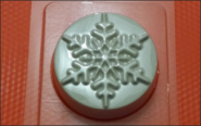 Форма для мыла Снежная шайба