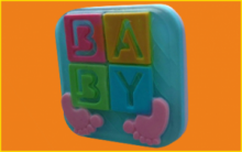 Форма для мыла Бэби