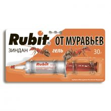 Rubit зиндан гель от муравьев и тараканов