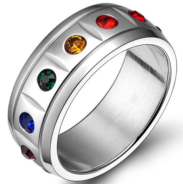 Вращающееся кольцо Rainbow