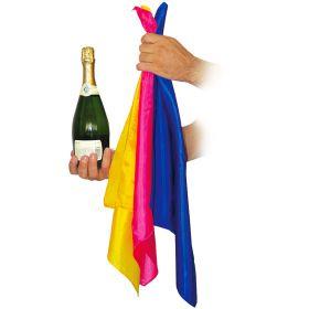 Появление бутылка вина из платков - Productions from Silks by Vincenzo Di Fatta