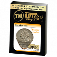 Монета тянучка - Stretched Coin Quarter Dollar by Tango
