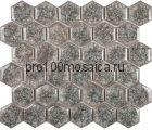 Esagono Griggio. Мозаика серия BRILLANT, размер, мм: 285*245*8 (IMAGINE.LAB)