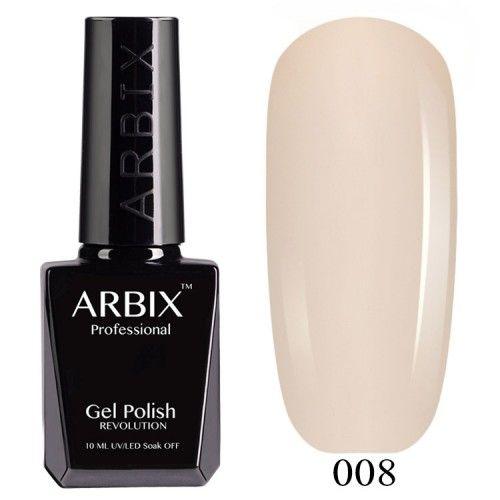 Гель-лак Arbix №008 Слоновая Кость