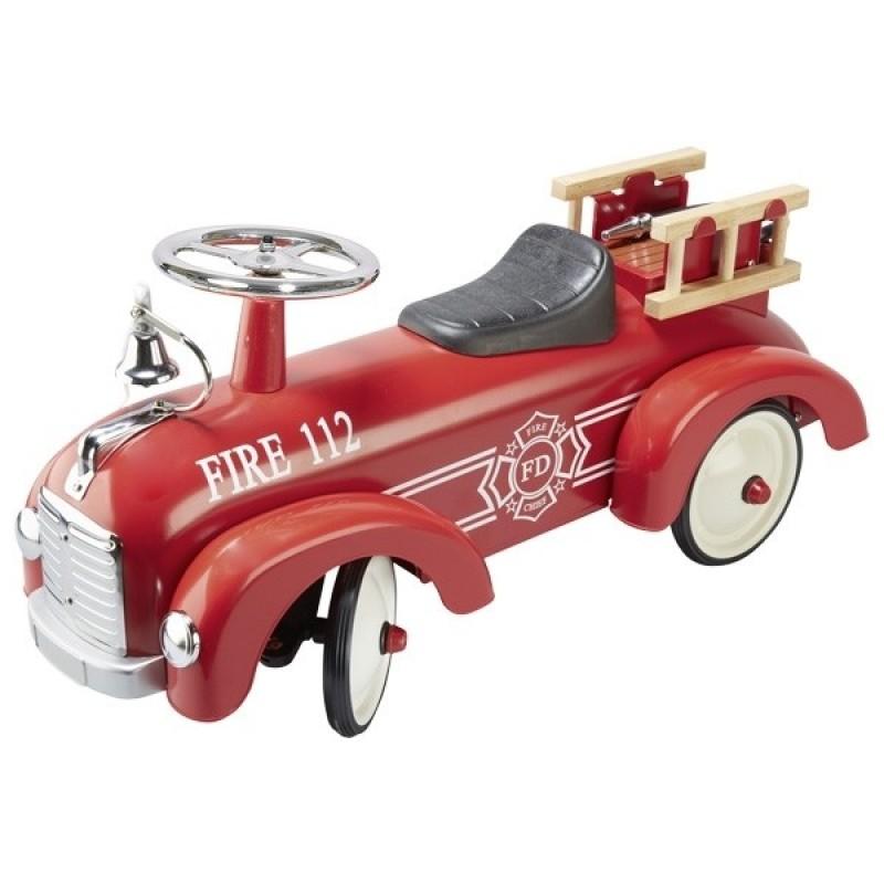 Веломобиль Пожарная машина Goki 14162