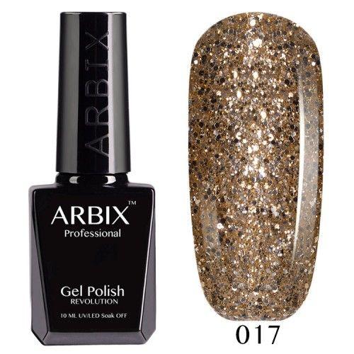 Гель-лак Arbix №017 Золотая Антилопа
