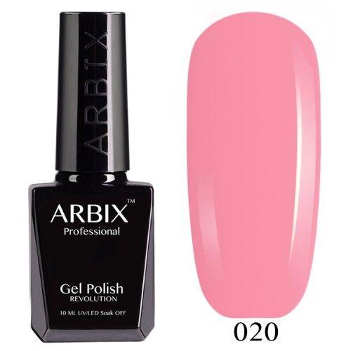 Гель-лак Arbix №020 Розовый Фламинго