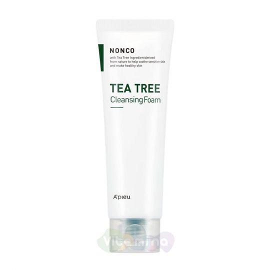 A'Pieu Пенка для умывания c экстрактом чайного дерева Nonco Tea Tree Cleansing Foam