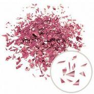 Конфетти Дробленые металлизированные, Роза голд, 250 г
