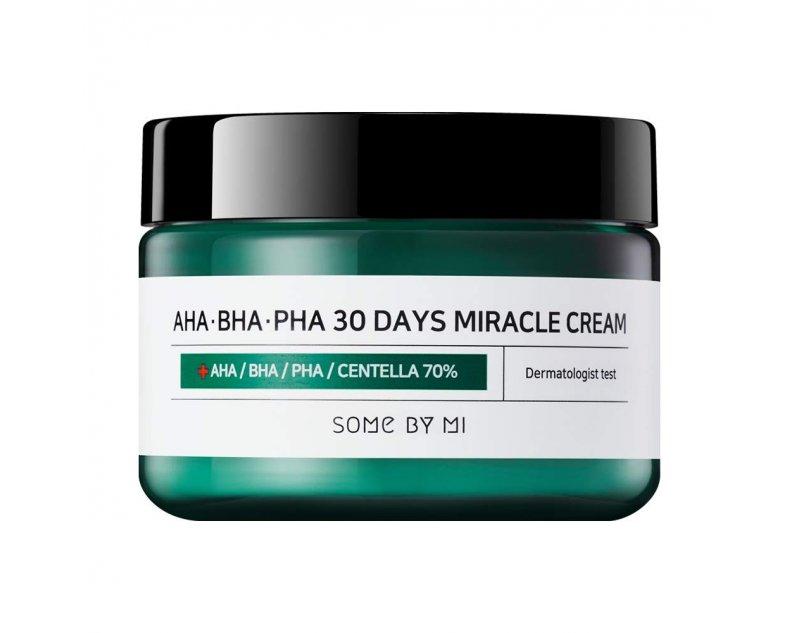 Крем с AHA BHA кислотами Some By Mi AHA.BHA.PHA 30 Days Miracle Cream 60ml