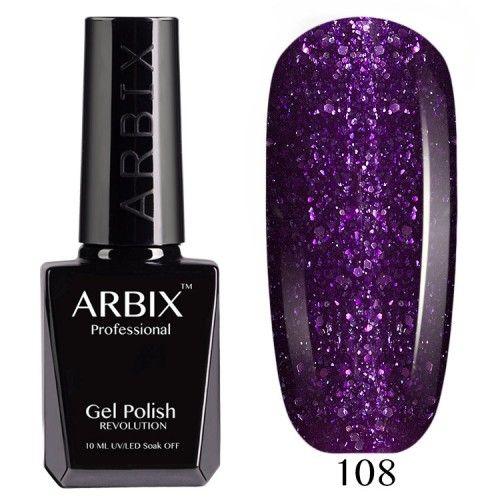 Гель-лак Arbix №108 Фиолетовая Мечта