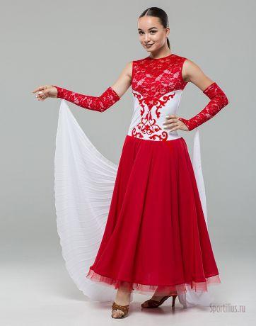 "Платье для танцев стандарт ""Версаль Red"""