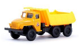 Игрушка грузовик металлический Урал, инерционный, 1:48