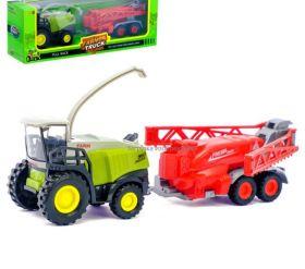 Комбайн игрушка металлический «Фермер», инерционный