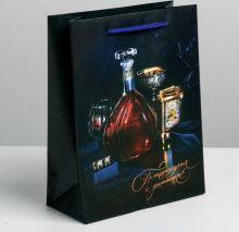 Пакет подарочный «Благополучия и достатка», ML 23 × 27 × 8 см