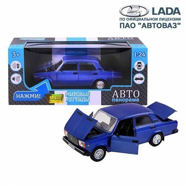 Модель 1200158JB ВАЗ 2107 1:24 Автопанорама