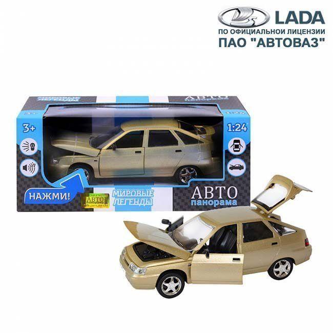 Модель 1200160JB ВАЗ 2112 1:22 Автопанорама