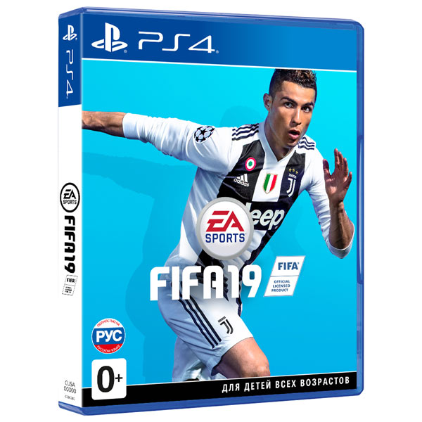Игра FIFA 19 + Ultimate Team (PS4)