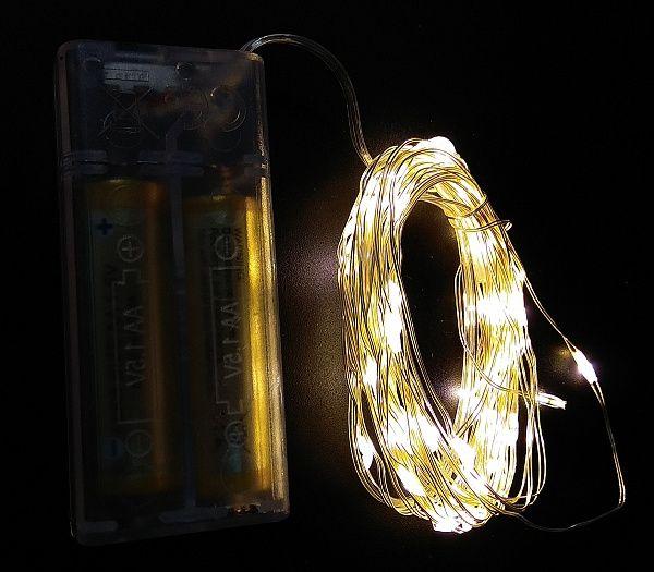 Гирлянда LED Огонек LD-150 белая*