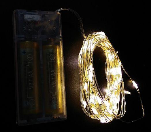 Гирлянда LED Огонек LD-153 белая