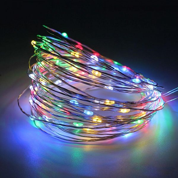 Гирлянда LED Огонек LD-155 цветная