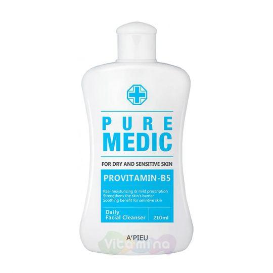 A'Pieu Ежедневный гель для умывания чувствительной кожи Puremedic Daily Facial Cleanser, 210 мл