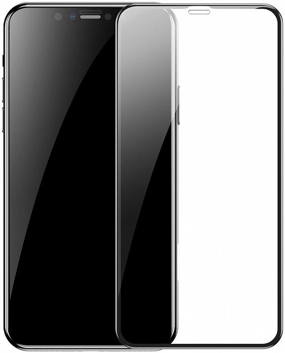 Защитное стекло iPhone 11 Pro Max 9D (полноразмерное)