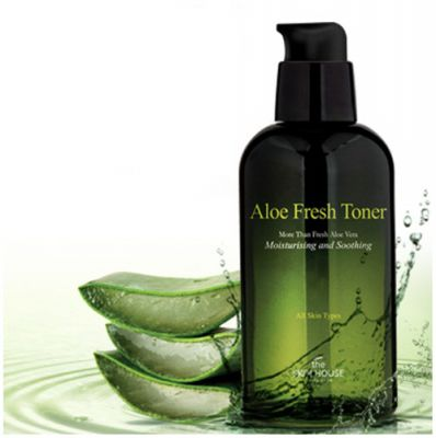 Тонер для лица с алое The Skin House ALOE FRESH TONER 130ml