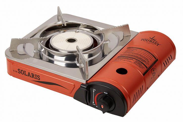 Плита газовая TOURIST SOLARIS TS-700 керамическая