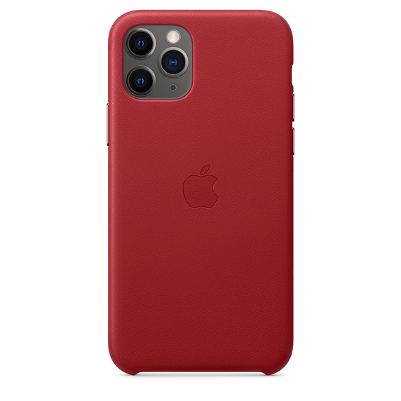 Чехол iPhone 11 Pro Apple Leather Case