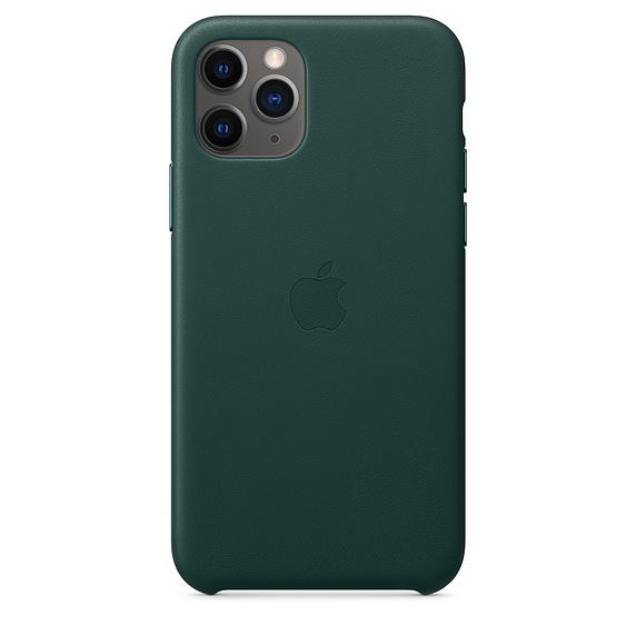 Чехол iPhone 11 Pro Max Apple Leather Case