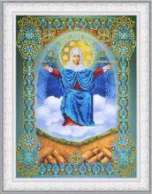 P-405 Картины Бисером. Икона Божией Матери Спорительница Хлебов