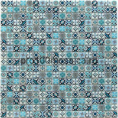 Xindi Blue Мозаика серия EXCLUSIVE, чип 15*15  размер, мм: 300*300*6