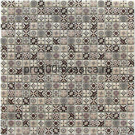 Xindi Grey Мозаика серия EXCLUSIVE, чип 15*15  размер, мм: 300*300*6