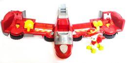 Большая пожарная машина трансформер самолет Маршала (Щенячий патруль)